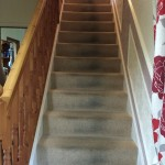 Stair Carpet - Before