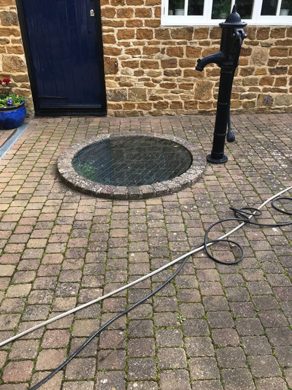 Patio and Drive Cleaning